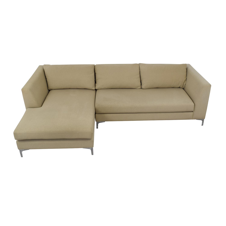 buy ABC Carpet & Home Modern Condo Sectional Sofa ABC Carpet & Home Sofas