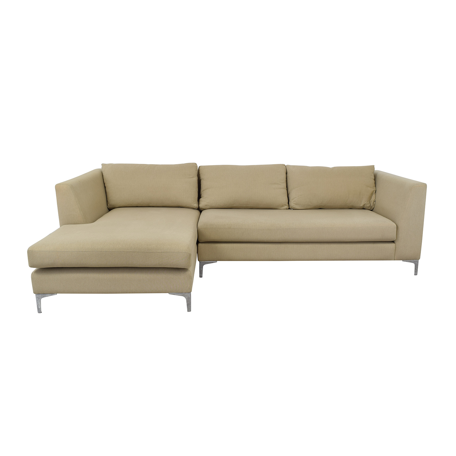 buy ABC Carpet & Home Modern Condo Sectional Sofa ABC Carpet & Home Sectionals