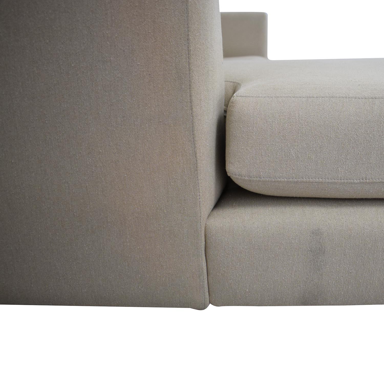 ABC Carpet & Home ABC Carpet & Home Modern Condo Sectional Sofa for sale