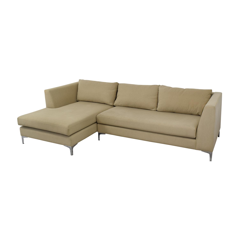 shop ABC Carpet & Home Modern Condo Sectional Sofa ABC Carpet & Home