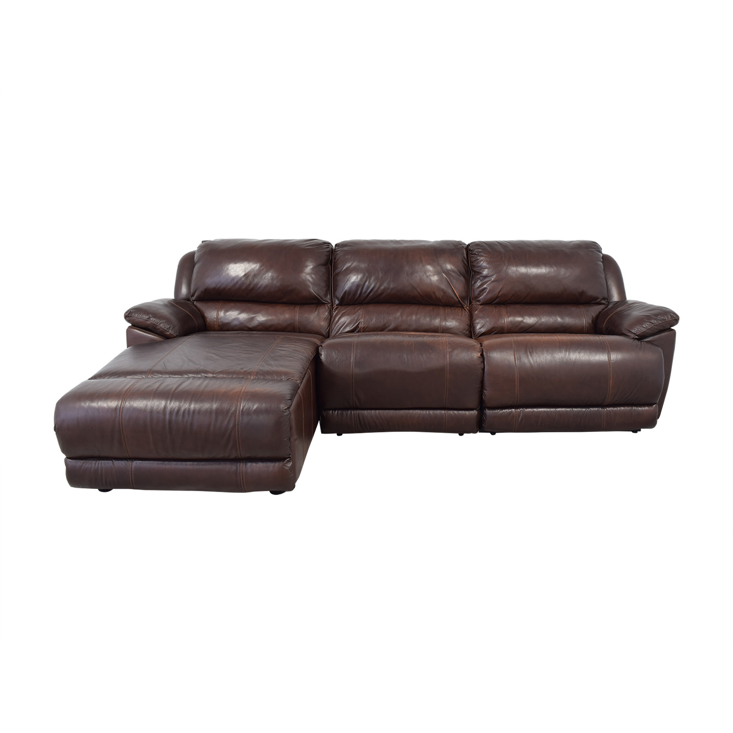 Macy's Macy's Leather Sectional coupon
