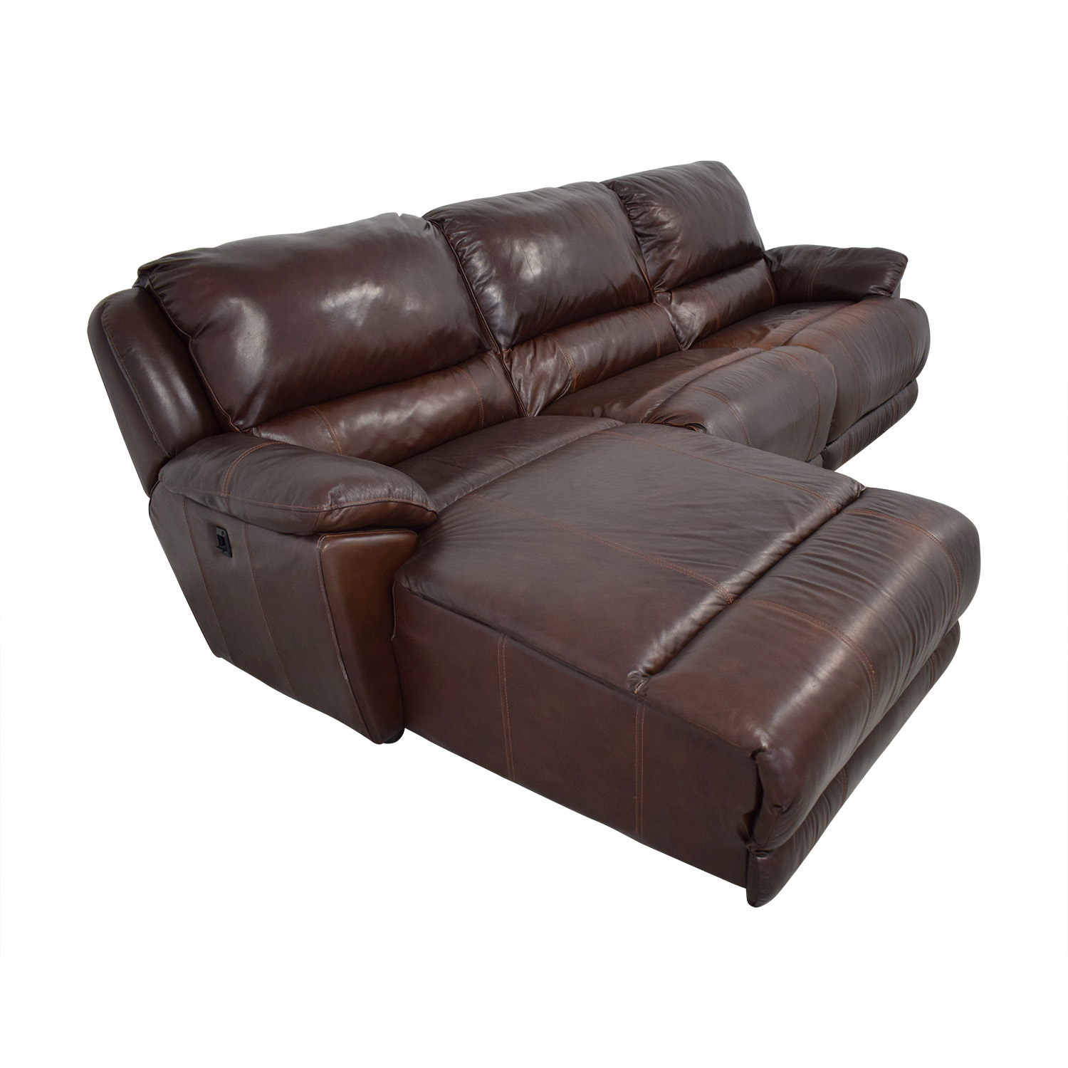 shop Macy's Macy's Leather Sectional online