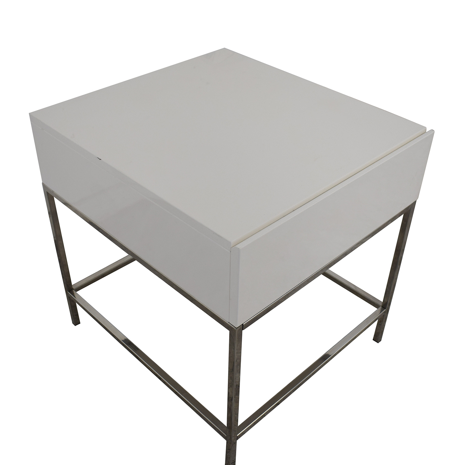 West Elm West Elm Lacquer Storage Side Table nyc