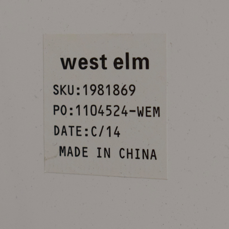 West Elm West Elm Lacquer Storage Side Table Tables