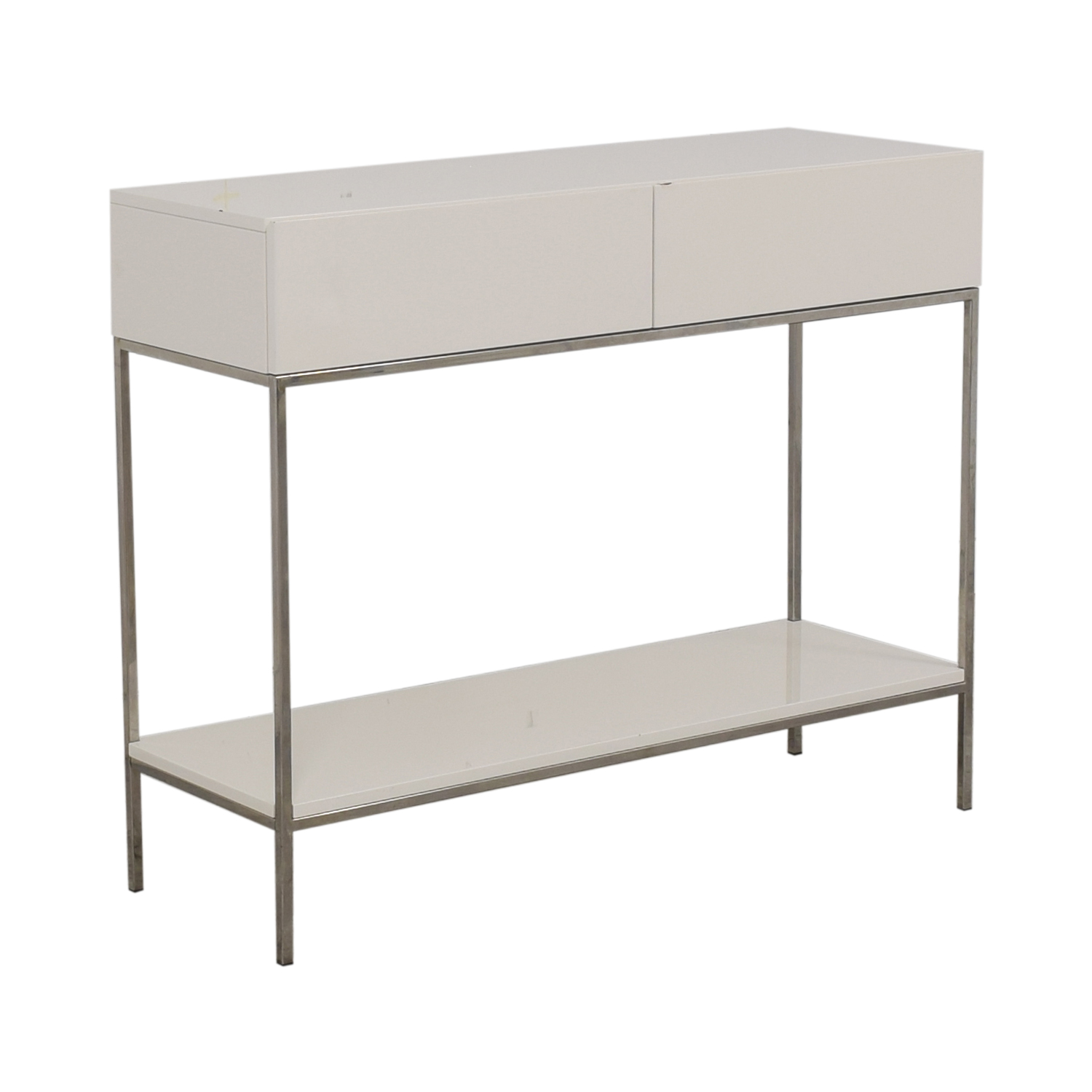 West Elm West Elm Industrial Storage Console second hand