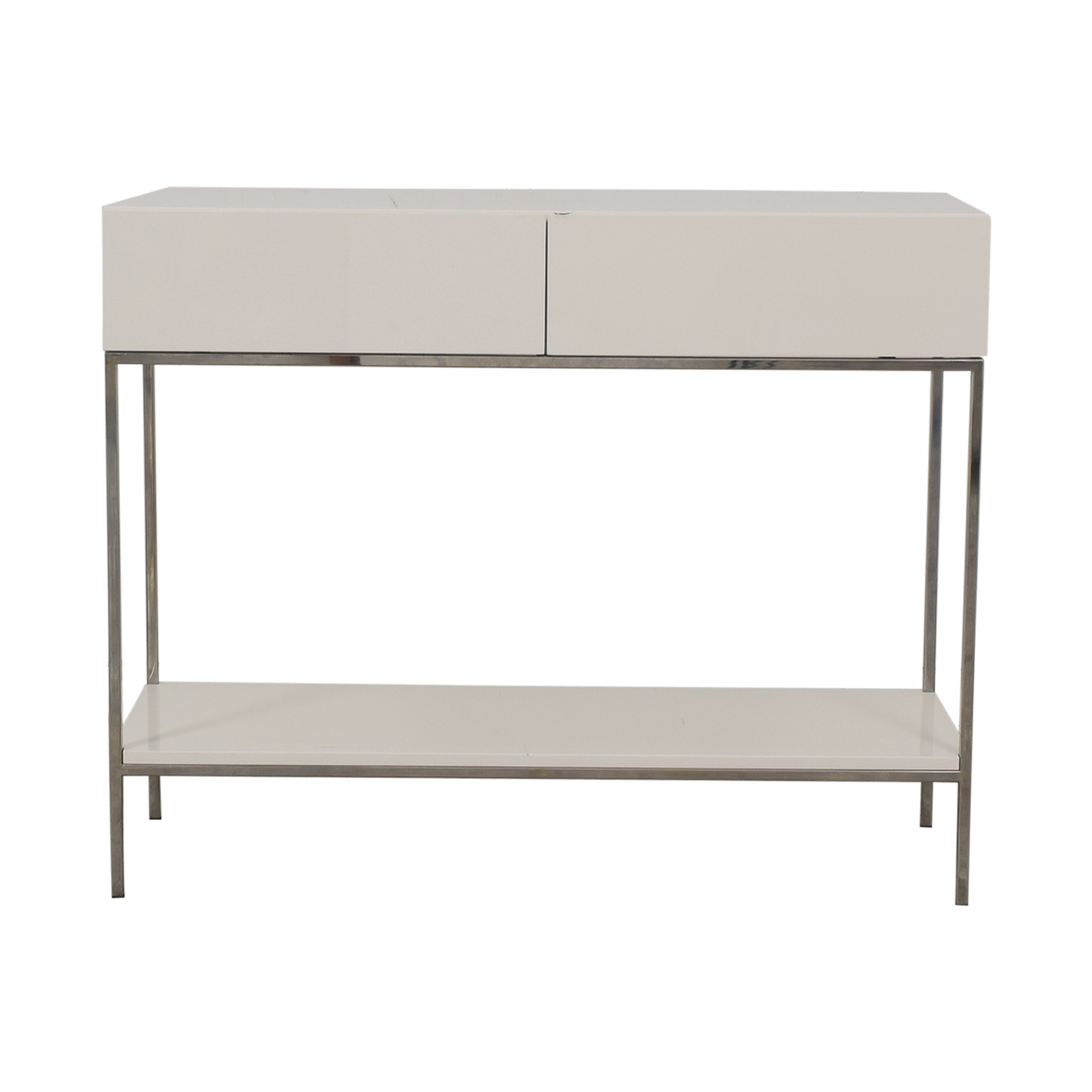 62 Off West Elm Storage Console Tables