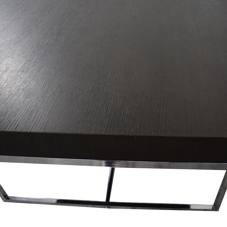 Tui Lifestyle Tui Lifestyle Wood Large Dining Table Black