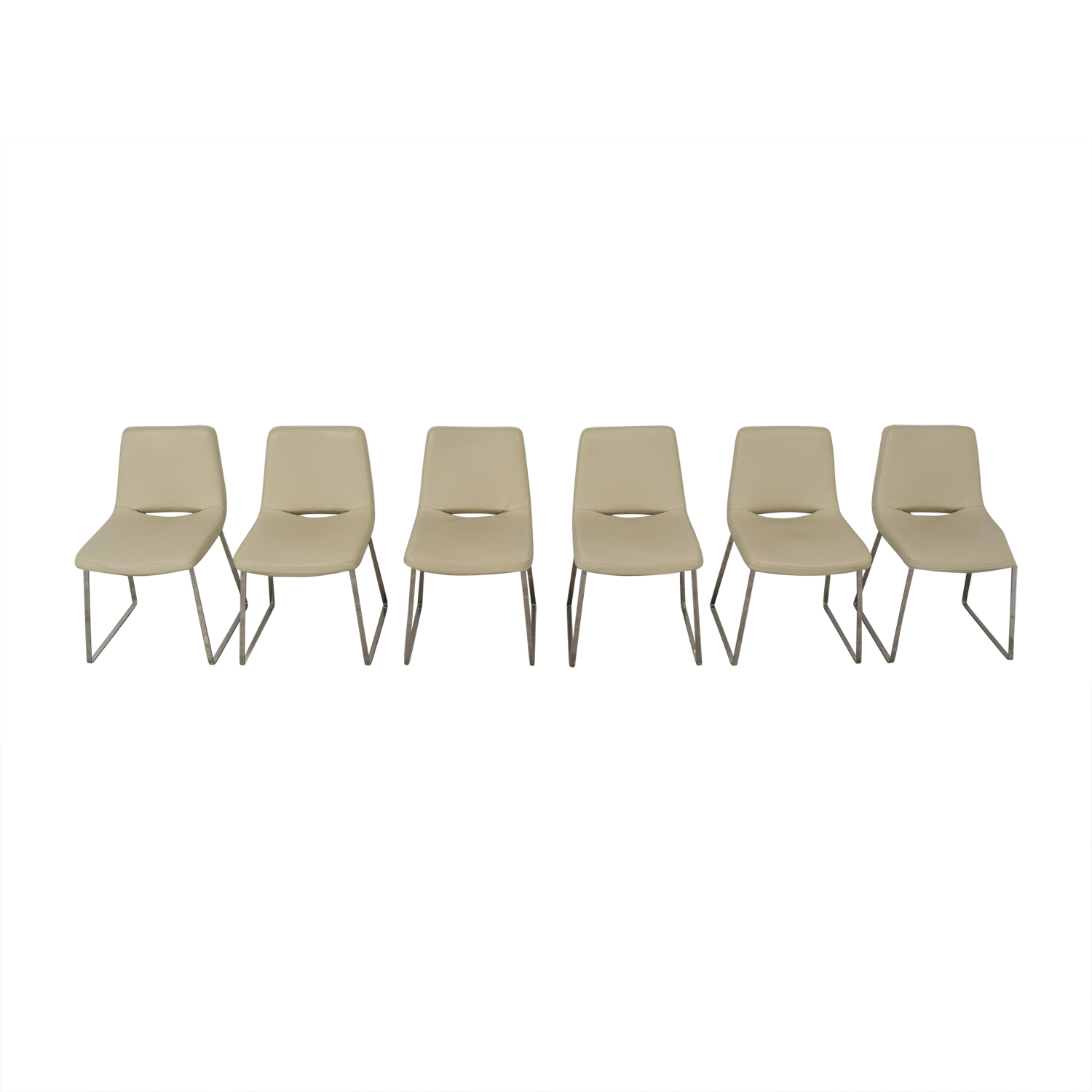 shop Tui Lifestyle Leather Dining Chair Set Tui Lifestyle Chairs