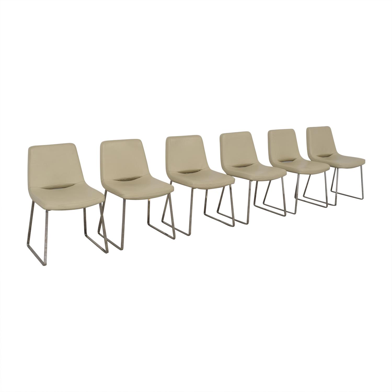 Tui Lifestyle Tui Lifestyle Leather Dining Chair Set nj