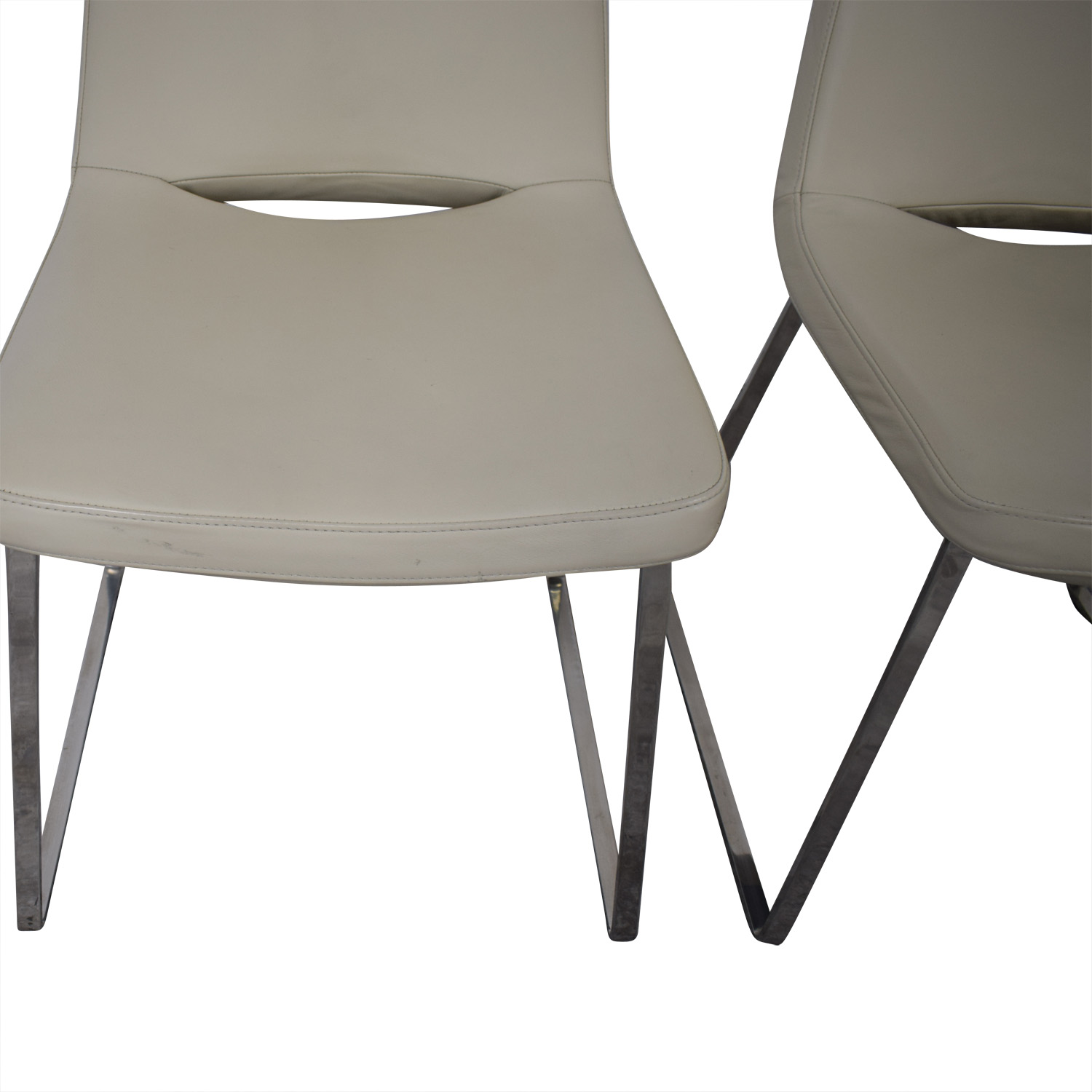 Tui Lifestyle Tui Lifestyle Leather Dining Chair Set for sale