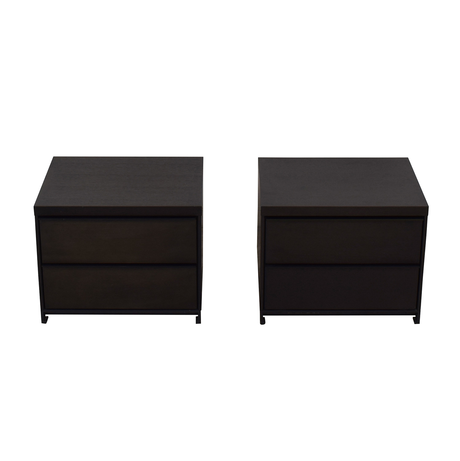 Tui Lifestyle Grey Oak Two Drawer Night Stands used