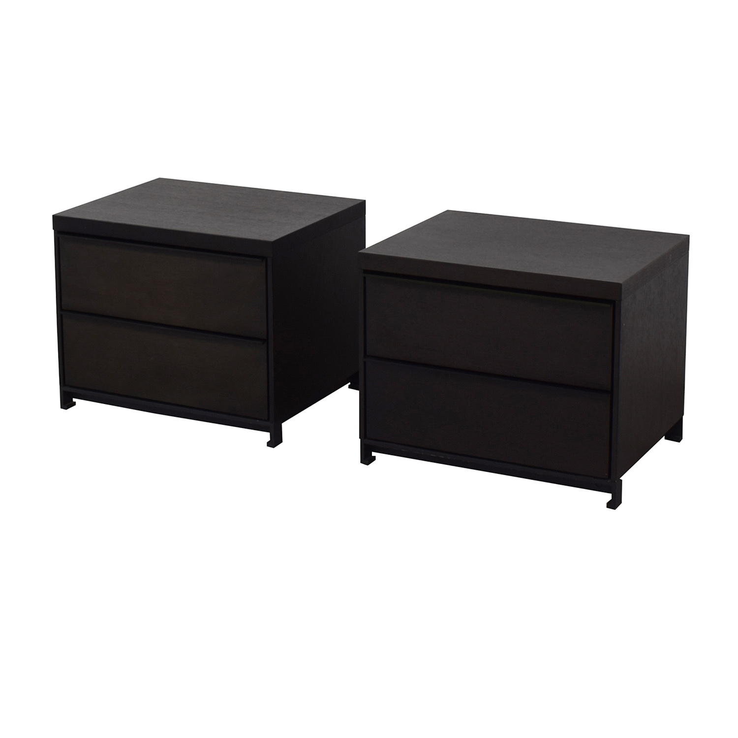 buy Grey Oak Two Drawer Night Stands Tui Lifestyle