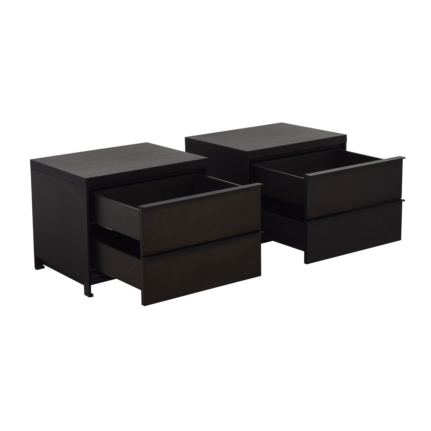 shop Grey Oak Two Drawer Night Stands Tui Lifestyle End Tables