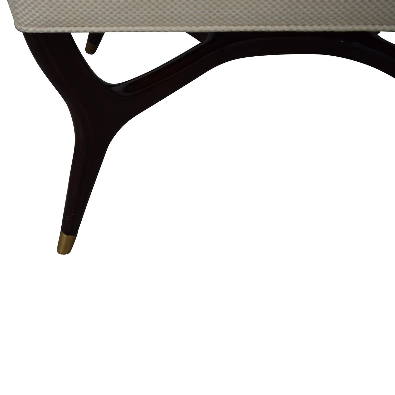 Theodore Alexander Keno Bros Otto Ottoman / Chairs