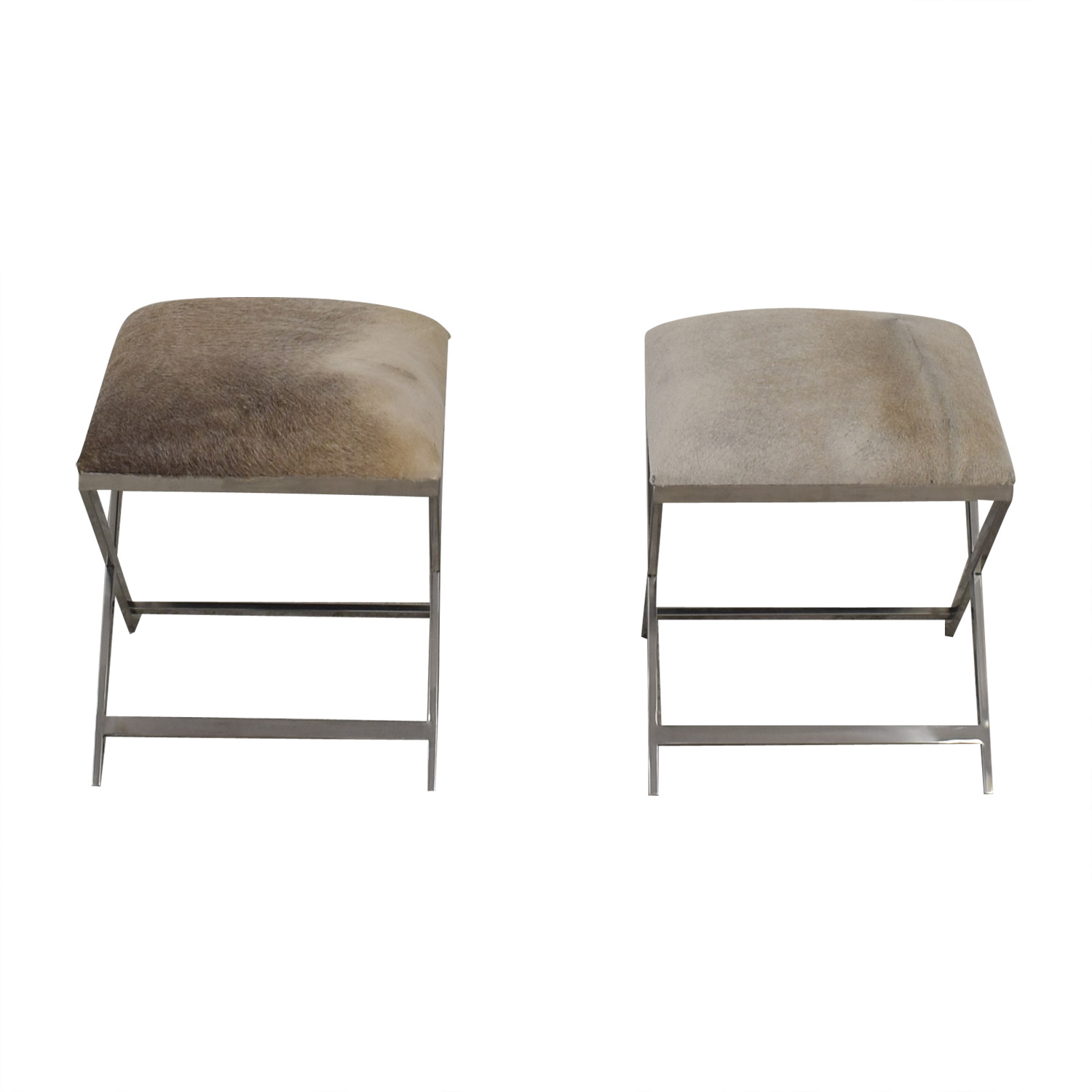 Tui Lifestyle Tui Lifestyle Shammy Hyde Stools second hand