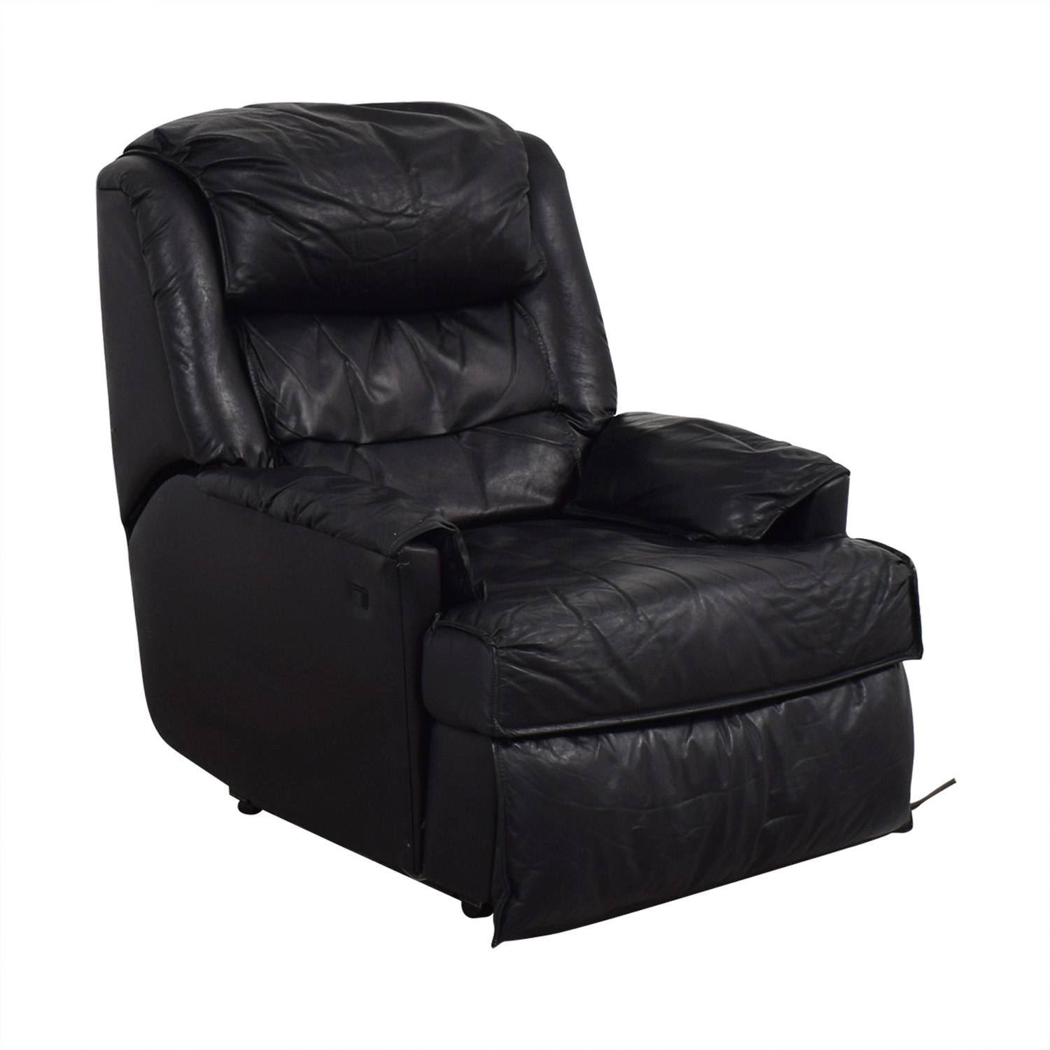 shop Barcalounger Leather Recliner Barcalounger