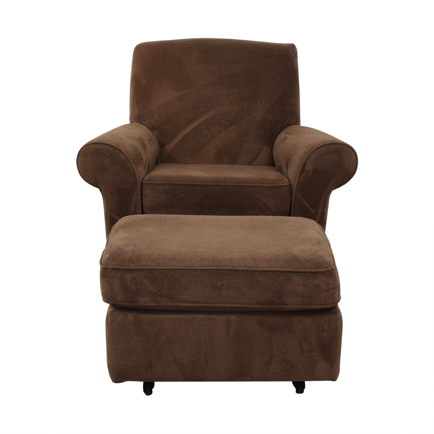 Best Chairs Best Chairs Mandy Swivel Glider and Ottoman second hand
