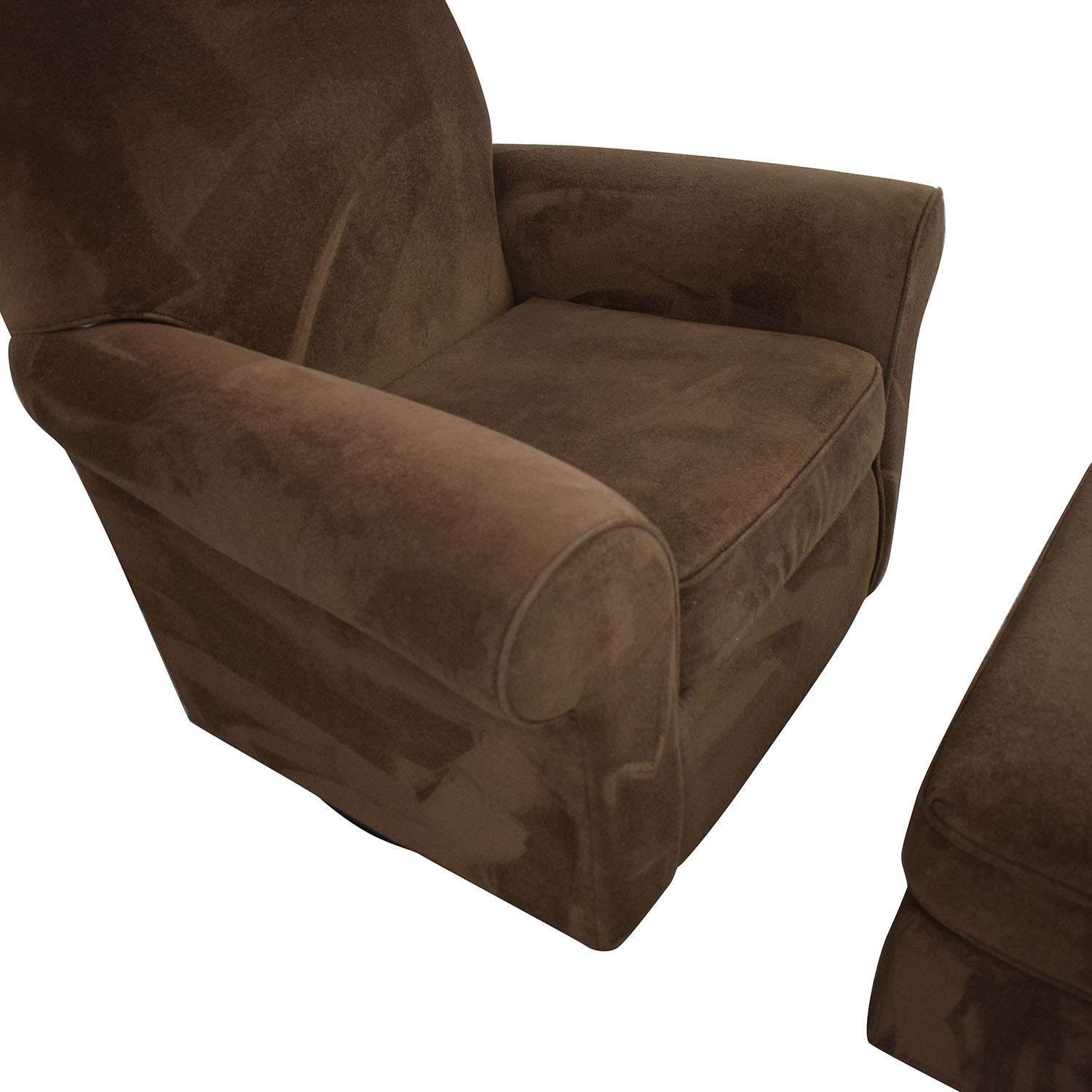 shop Best Chairs Mandy Swivel Glider and Ottoman Best Chairs