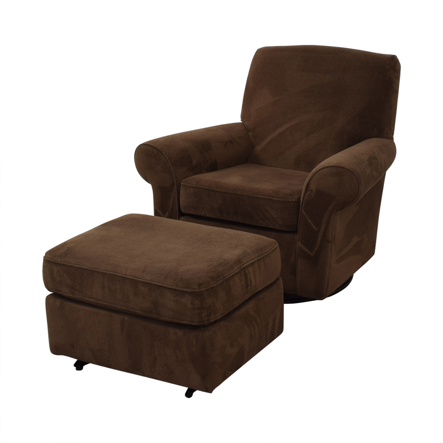shop Best Chairs Best Chairs Mandy Swivel Glider and Ottoman online