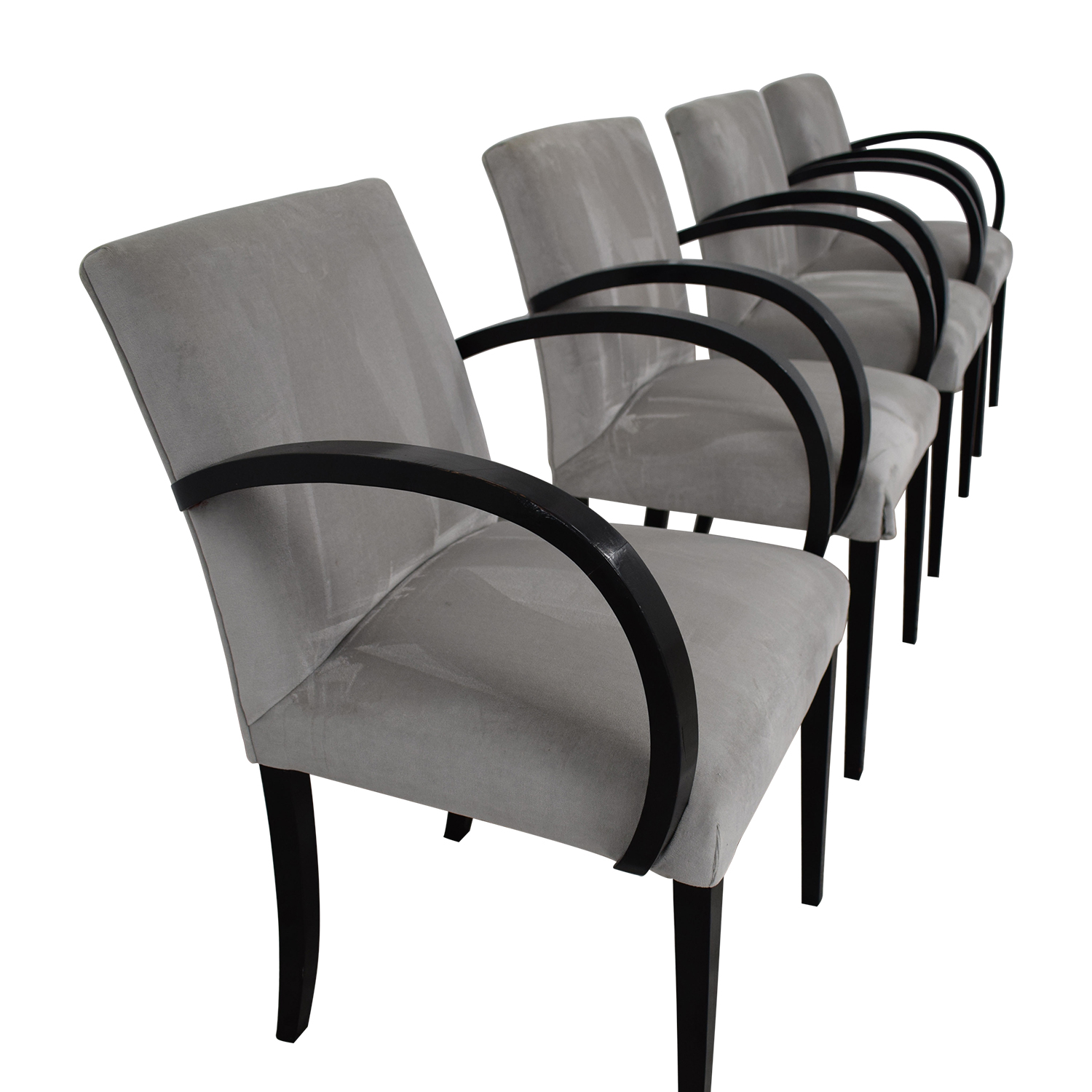76 Off French Art Deco Chairs Chairs