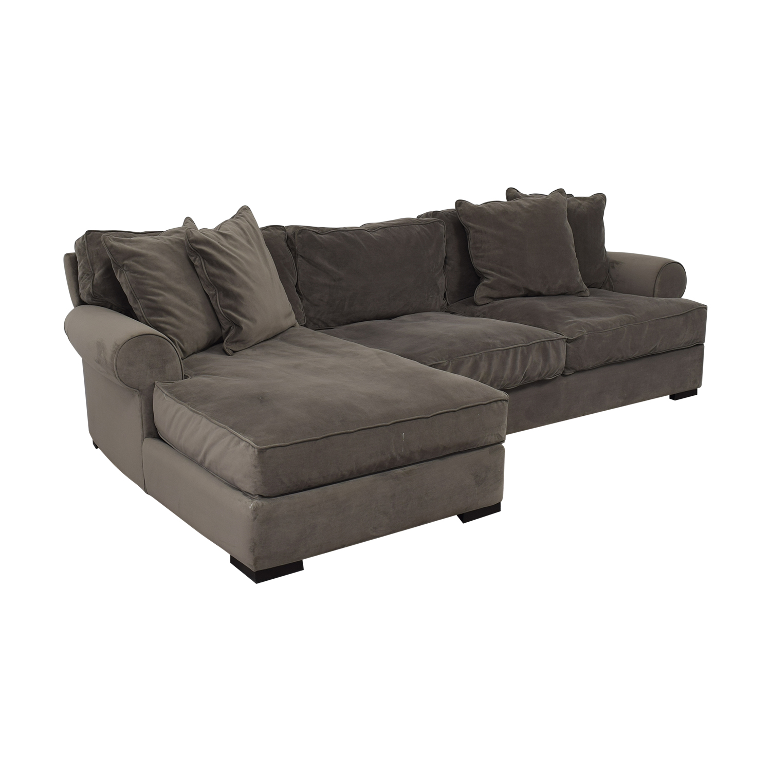 Raymour & Flanigan Raymour & Flanigan Kipling Chenille Sectional price