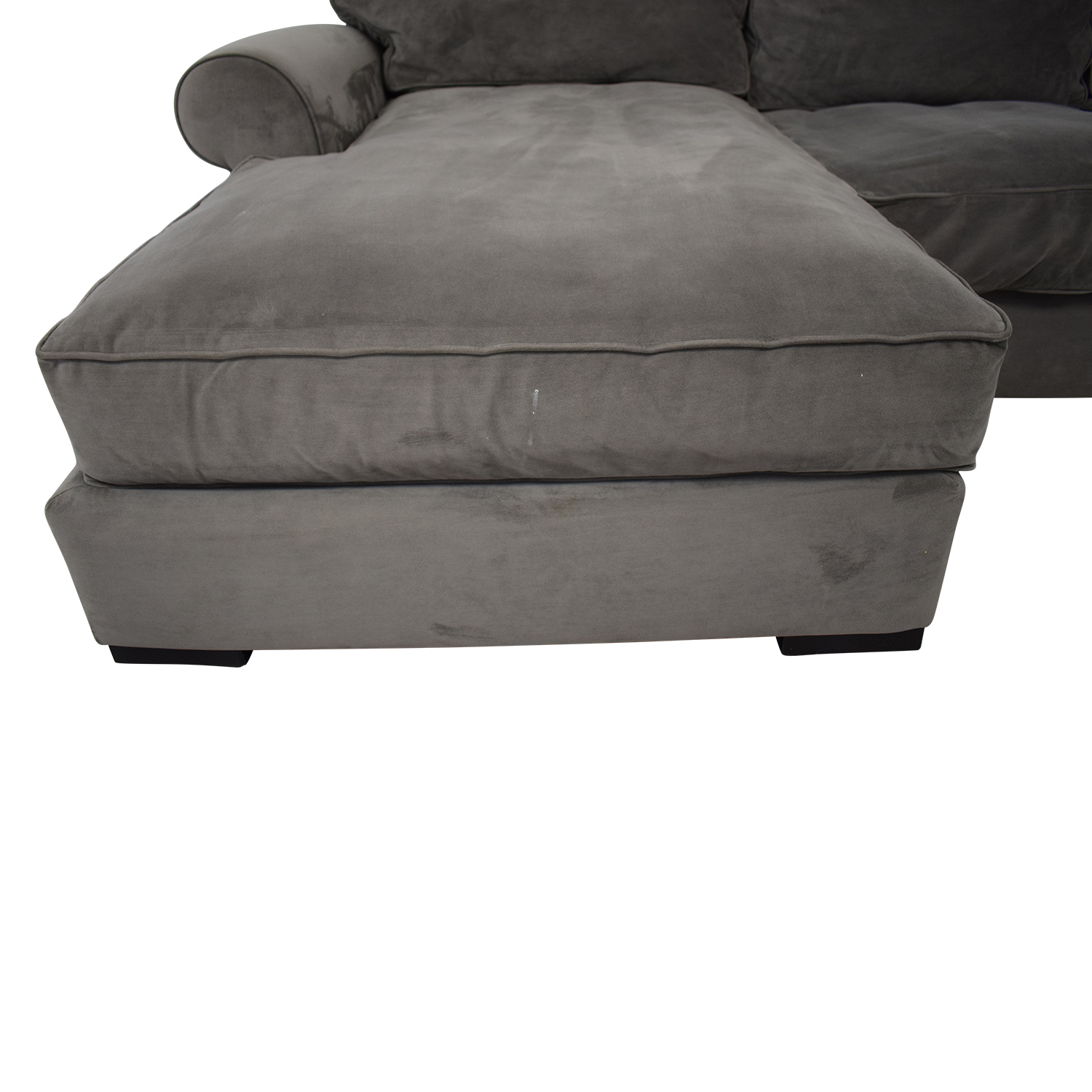 Raymour & Flanigan Kipling Chenille Sectional / Sectionals
