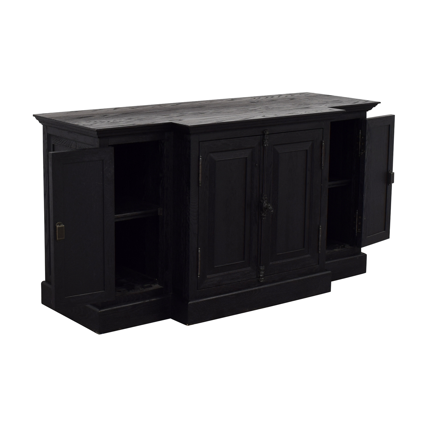 Restoration Hardware Restoration Hardware French Panel Media Console dimensions