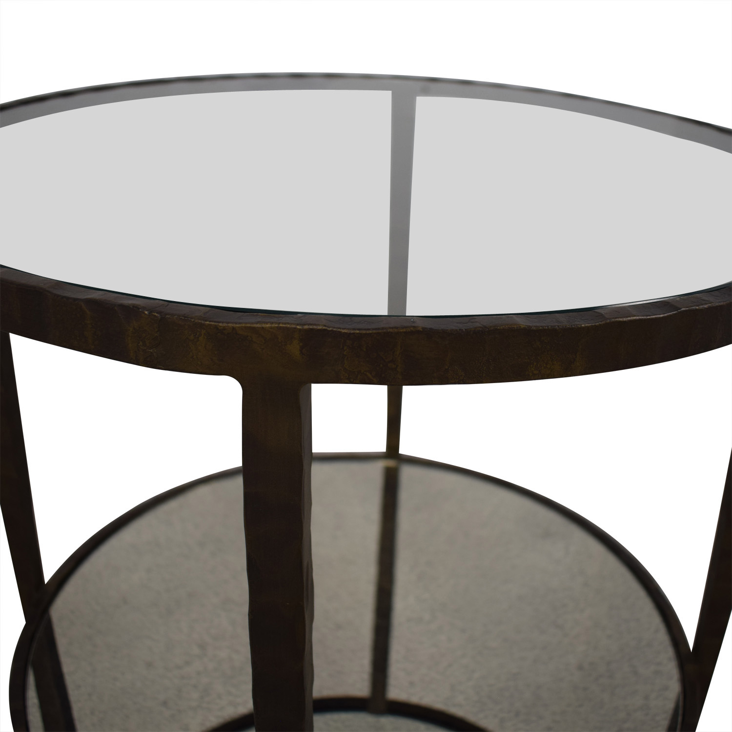Crate & Barrel Crate & Barrel Clairemont Round Side Table discount