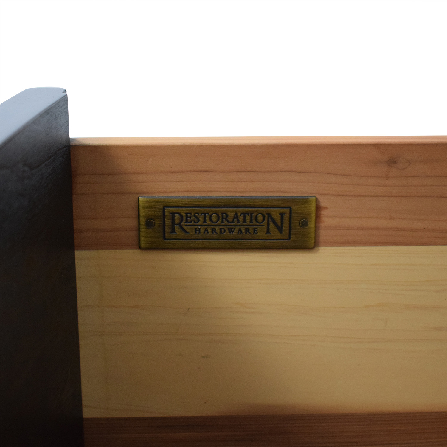 Restoration Hardware Restoration Hardware Portman Two Drawer Nightstand End Tables