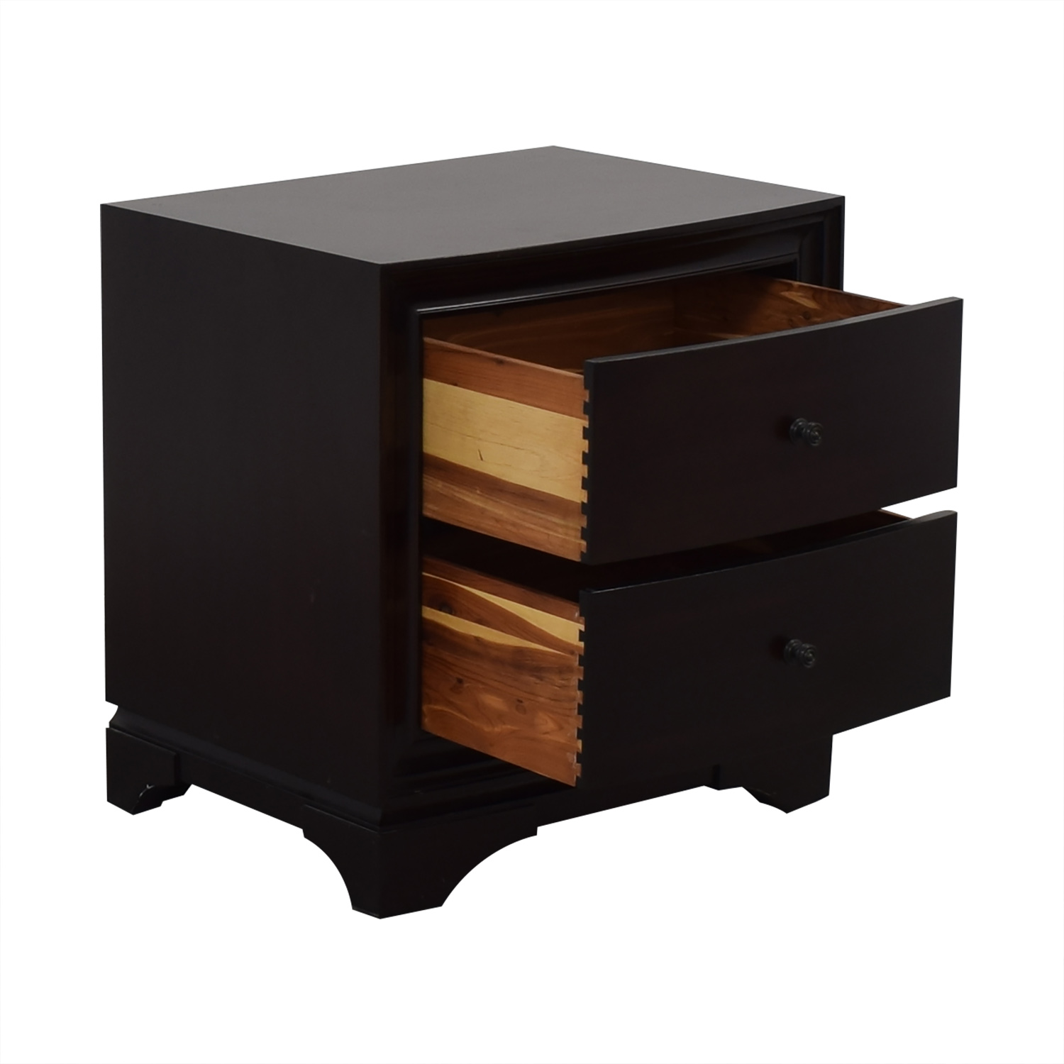 Restoration Hardware Restoration Hardware Portman Two Drawer Nightstand second hand