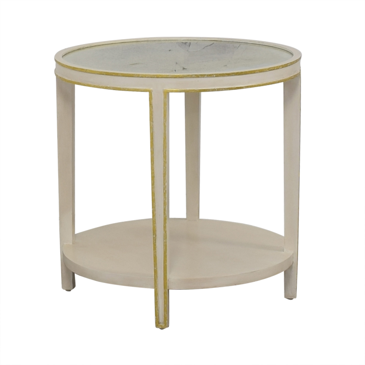 Round Coffee Table And End Tables 9