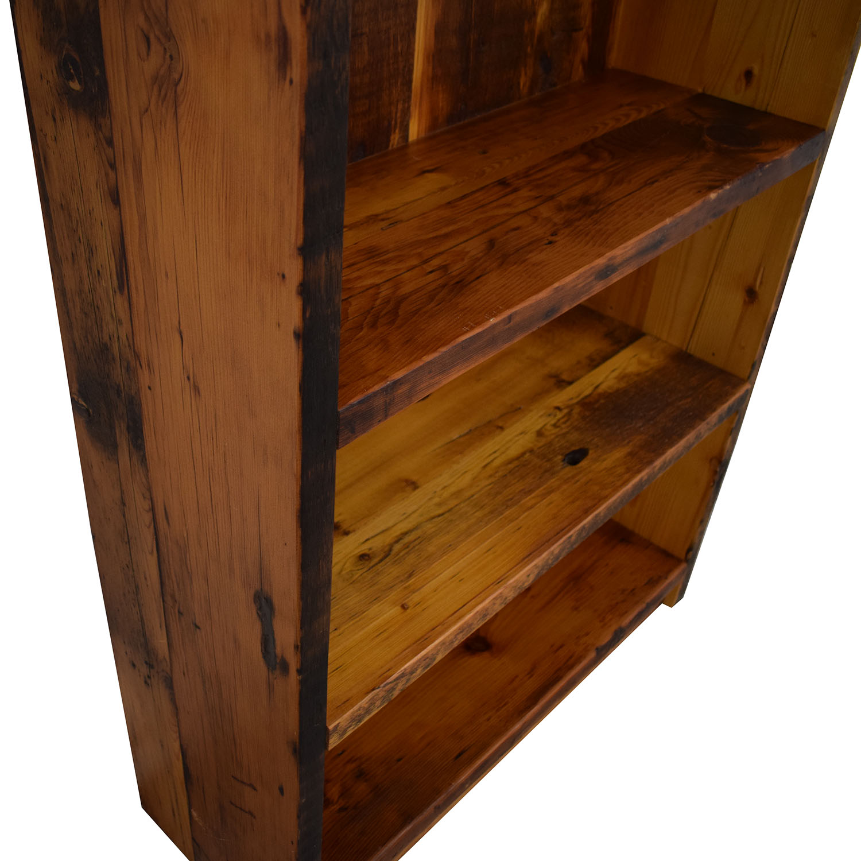 Olde Good Things Olde Good Things Reclaimed Pine Bookcase dimensions