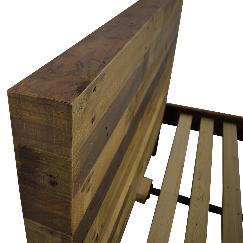 West Elm West Elm Emmerson Reclaimed Wood Queen Bed second hand