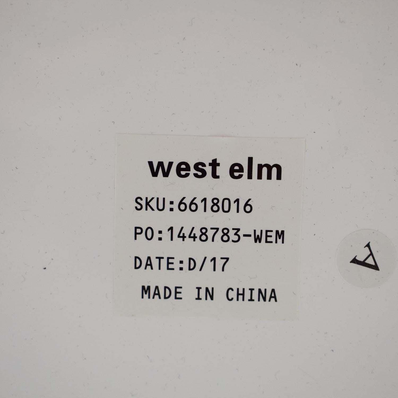 West Elm West Elm White Lacquer Mini Desk nyc