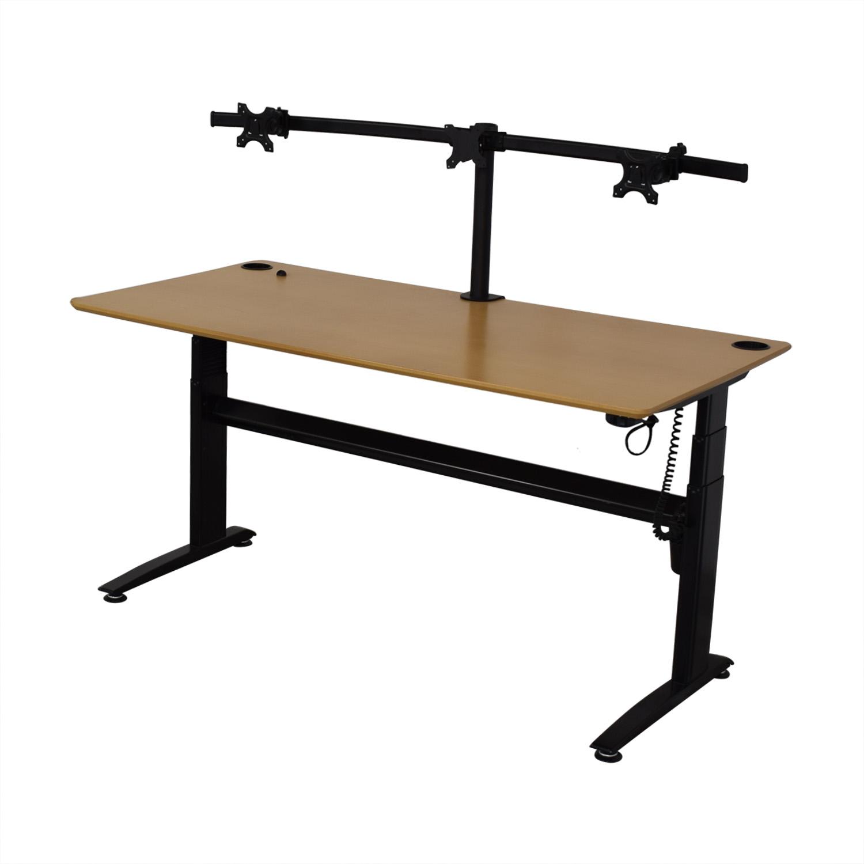 buy GeekDesk Electric Standing Desk V2 GeekDesk Home Office Desks