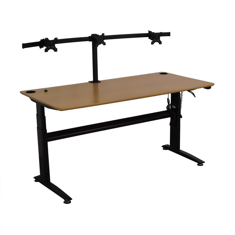 shop GeekDesk Electric Standing Desk V2 GeekDesk