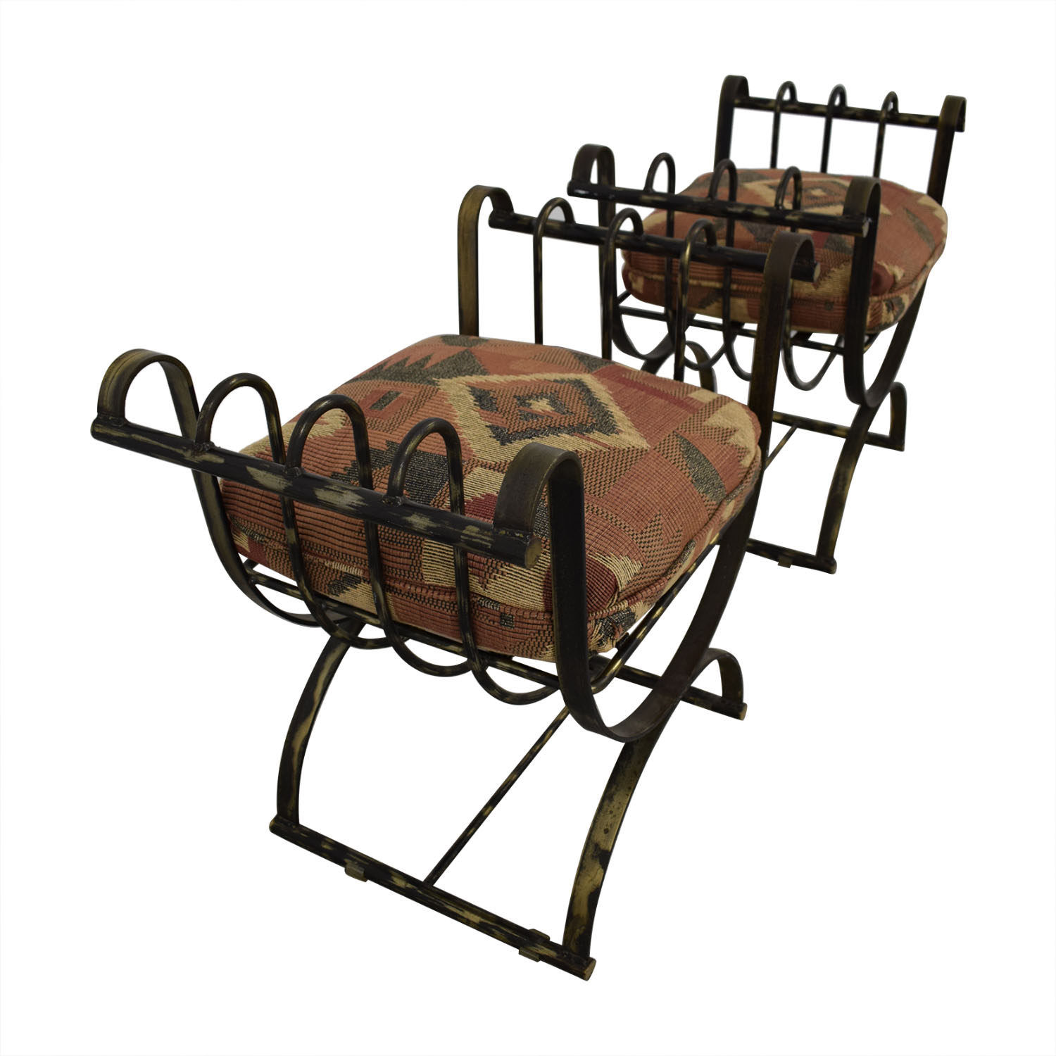 Wrought Iron Decorative Seats discount