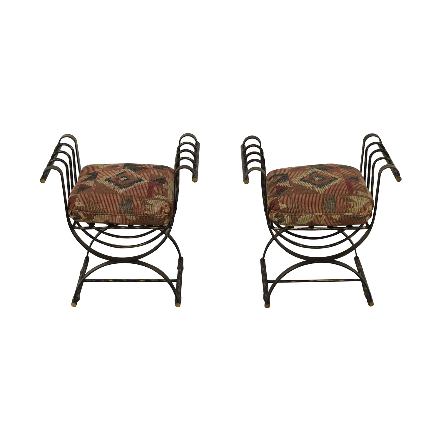 Wrought Iron Decorative Seats for sale