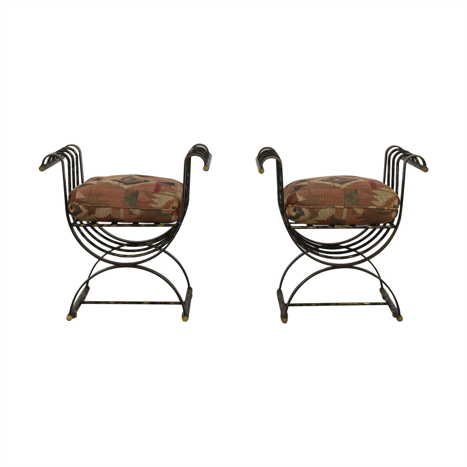 shop Wrought Iron Decorative Seats