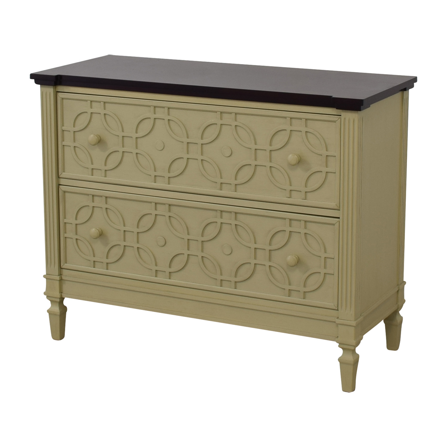 Two Drawer Decorative Chest nyc