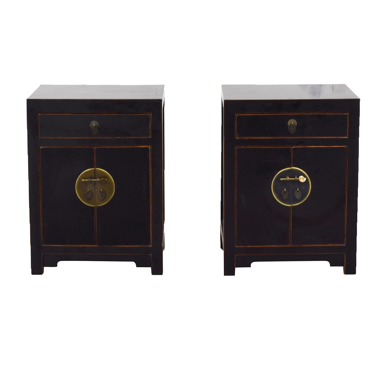 Pair of Asian Night Stands on sale