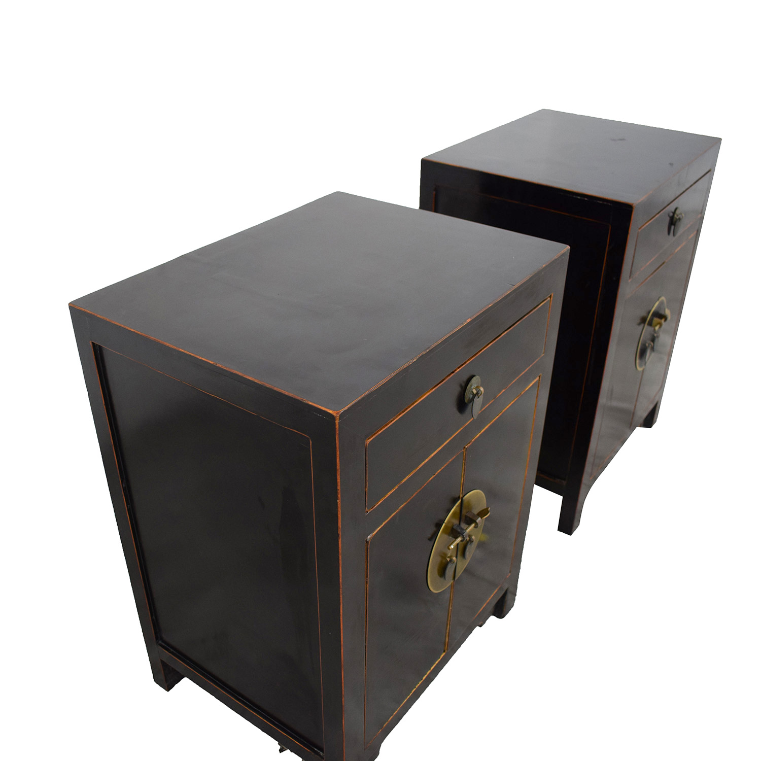 Pair of Asian Night Stands for sale