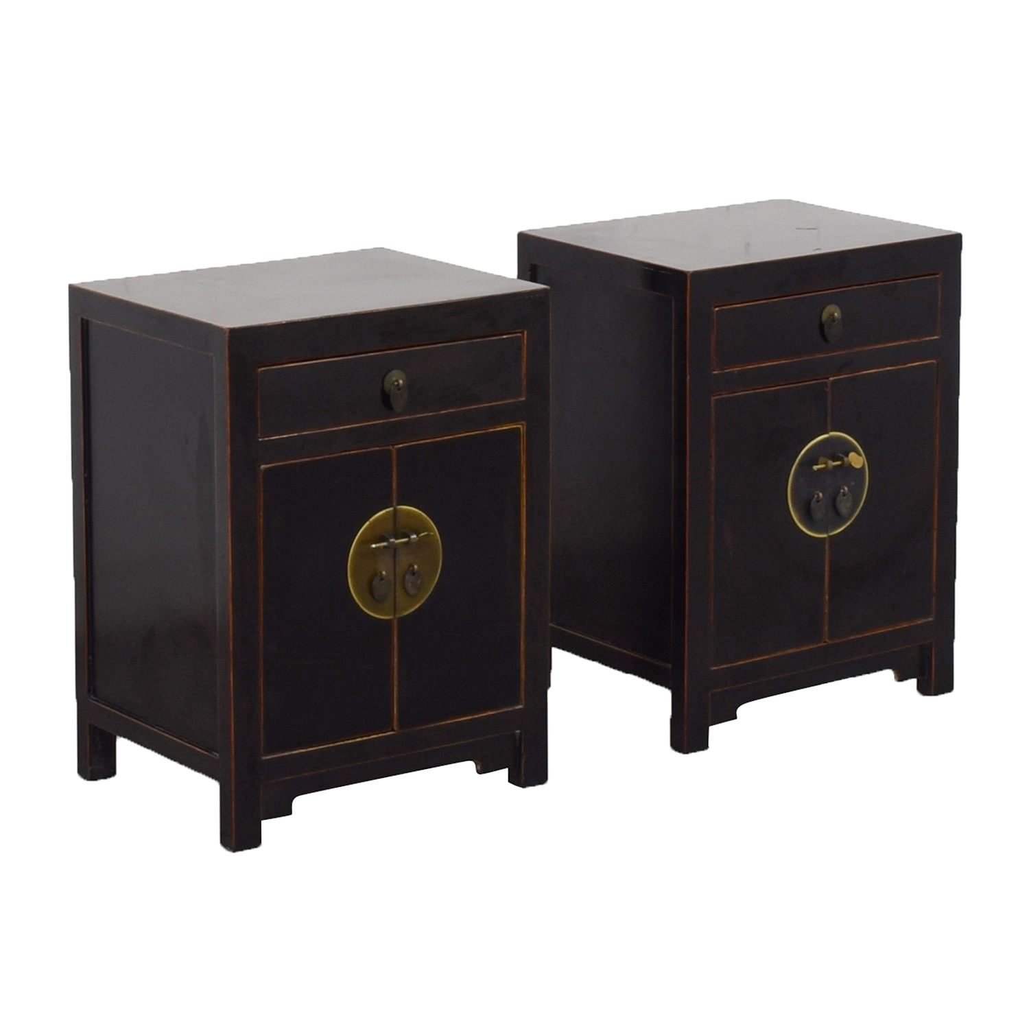 Pair of Asian Night Stands