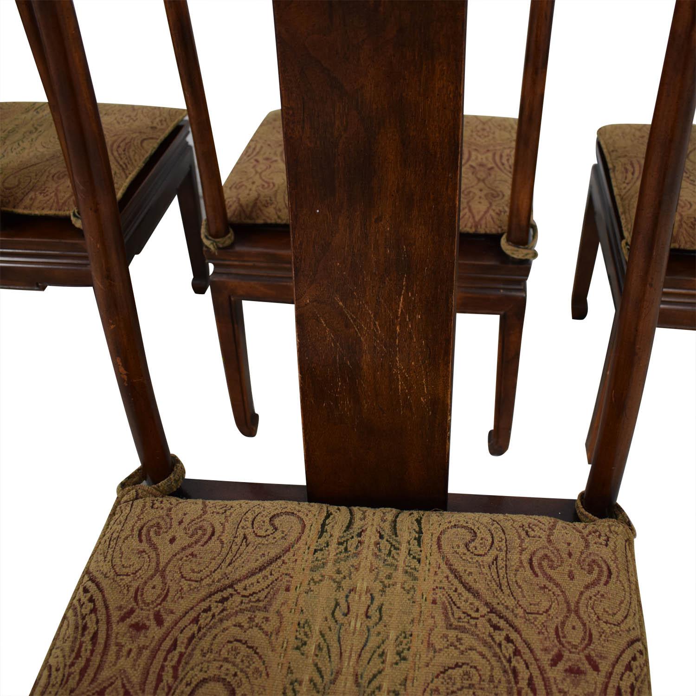 Henredon Furniture Henredon Mahogany Dining Chairs for sale
