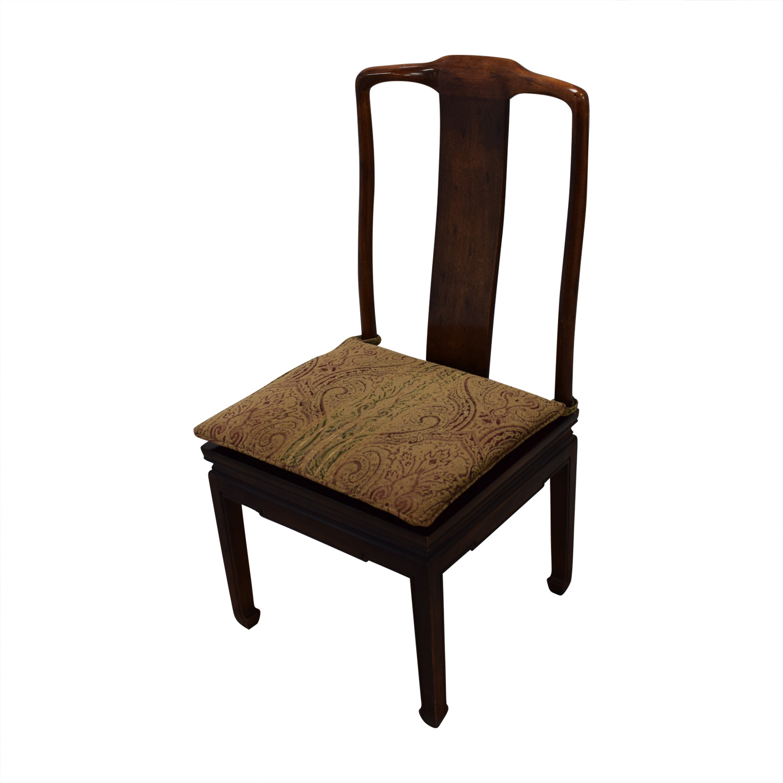 79% OFF   Henredon Furniture Henredon Mahogany Dining Chairs / Chairs