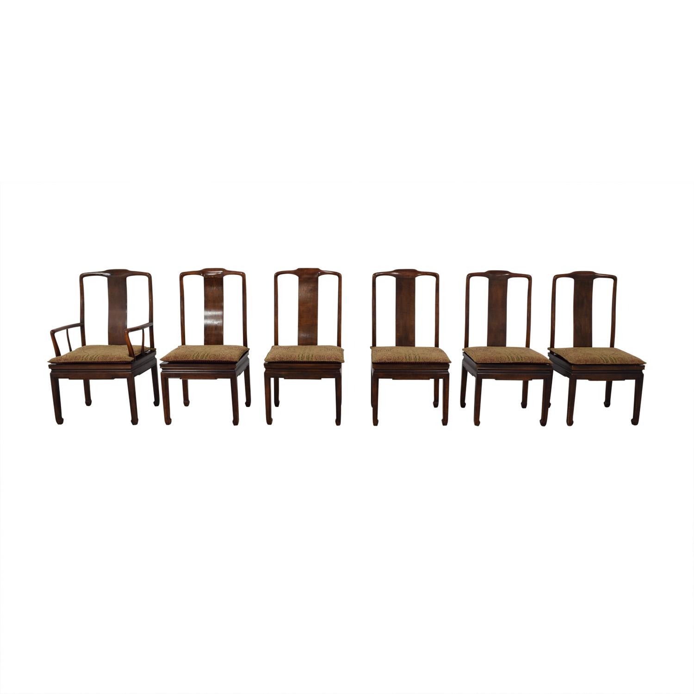 Henredon Furniture Henredon Mahogany Dining Chairs Chairs