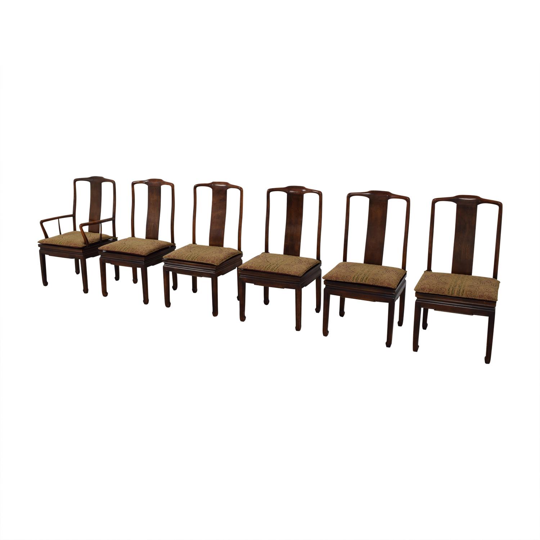 Henredon Furniture Henredon Mahogany Dining Chairs discount