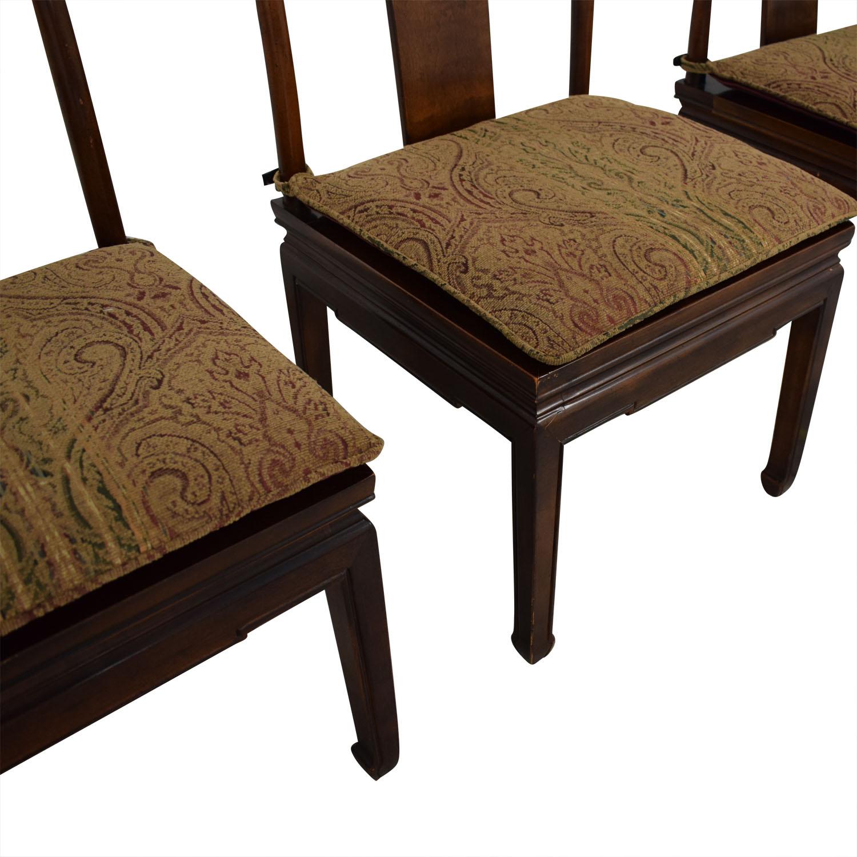 Henredon Mahogany Dining Chairs / Dining Chairs