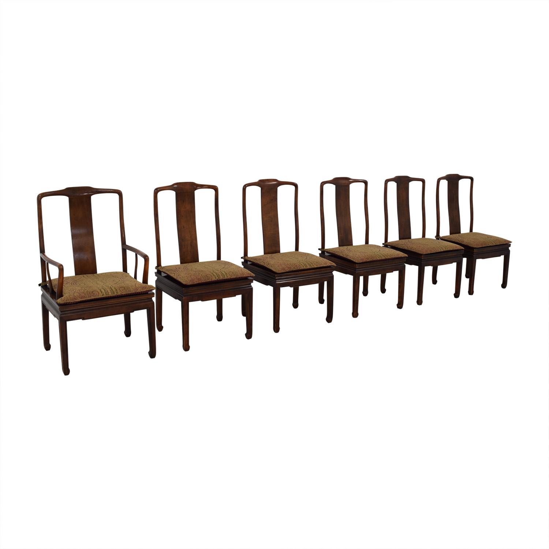 shop Henredon Mahogany Dining Chairs Henredon Furniture