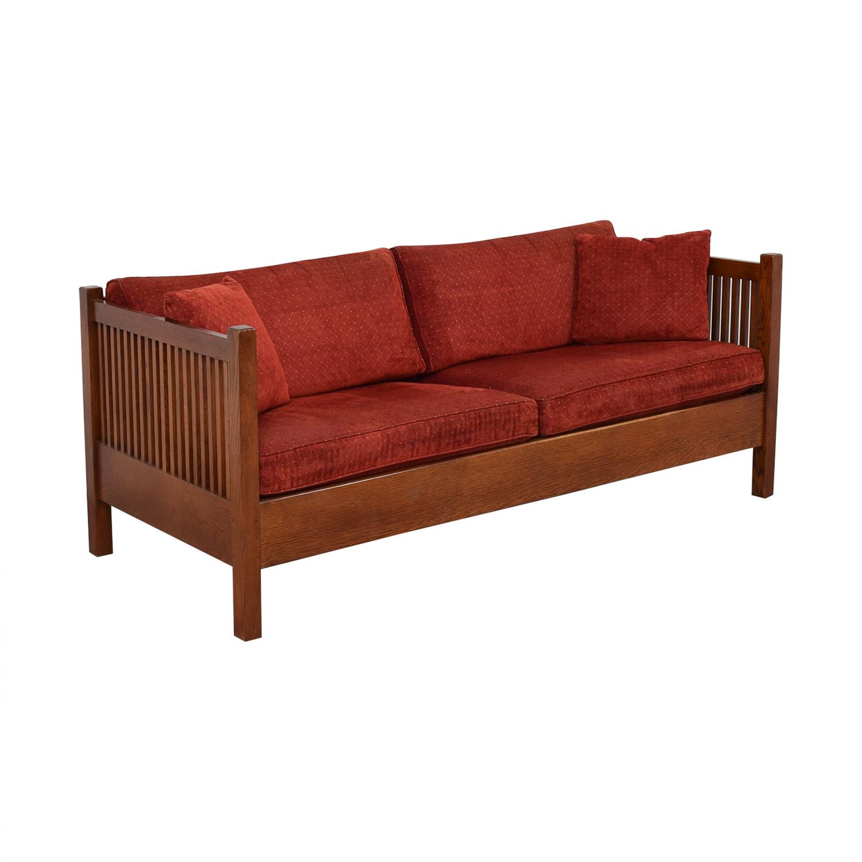 Stickley Furniture Stickley Prairie Settie Sofa dimensions